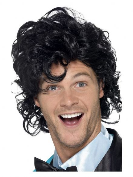 1980's Prom King Perm Wig